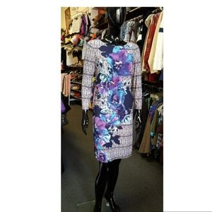 Preowned Vince Camuto floral dress sz 6